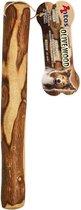 Kauwhout Olijfhout Kauwwortel Honden Hout Kauwwortel Natuurlijke Kauwsnack Kauw Bot Allergie Hond