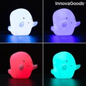 InnovaGoods Ghost multicolour LED lamp Glowy
