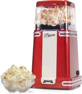 Gadgy Popcorn Machine Retro - Hete lucht Popcornmaker – 26,5 x 14 cm.