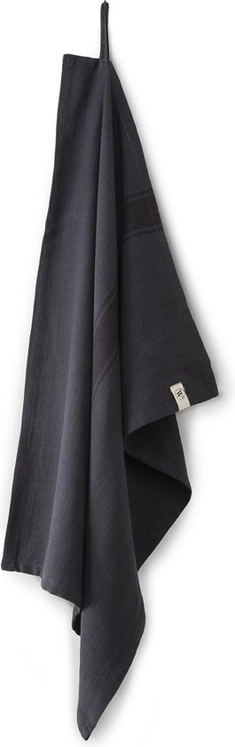 Walra voordeelset - Theedoek Dry Up - Set van 8 - Off black