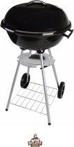 XL Kogelbarbecue: Houtskoolbarbecue - 46 cm + Brik