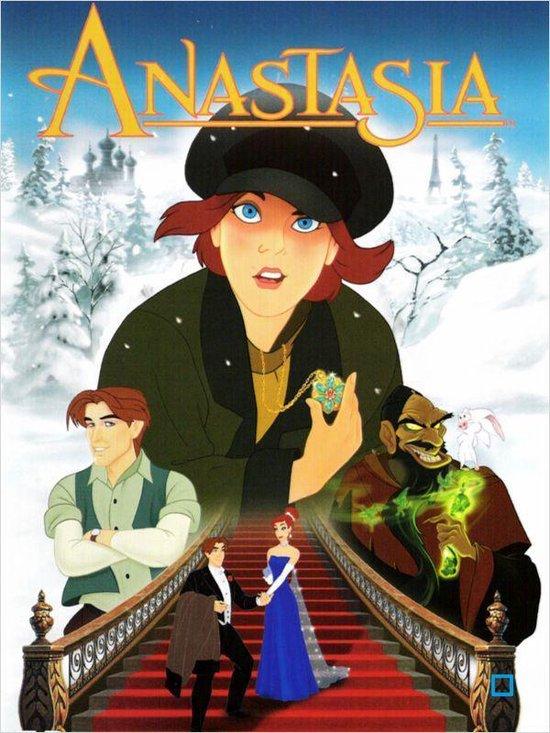 Cover van de film 'Anastasia'