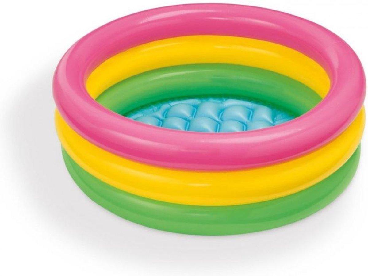 Zwembad voor kinderen / baby / peuter | Regenboogzwembad | Opblaasbaar
