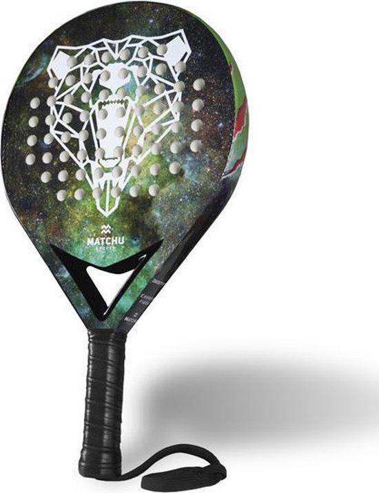 Matchu Sports - Padel Racket - Bear - Rond - Carbon