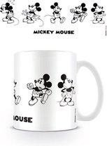 DISNEY - Mug - 300 ml - Mickey Mouse Vintage