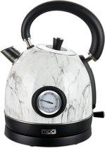 -MOA Retro Waterkoker Wit Marmer 18 liter - Elektrisch - Limited Edition - EK3TM-aanbieding