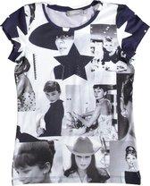 Geisha jeans tops vrouwen - navy - 164