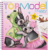 Top Model - Doggy Colouring Book (0411025) /Arts and Crafts /Multi