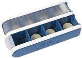 Pill Box-Blauw