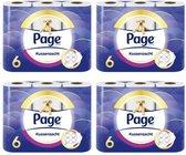 Page toiletpapier Kussenzacht - 4 x 6 rollen - 3-laags - wc papier
