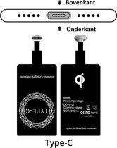 Type C Wireless Charging Receiver - Micro USB C - Type C – Draadloze oplaad ontvanger