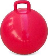 Skippybal rood 60 cm voor kinderen - Skippyballen buitenspeelgoed