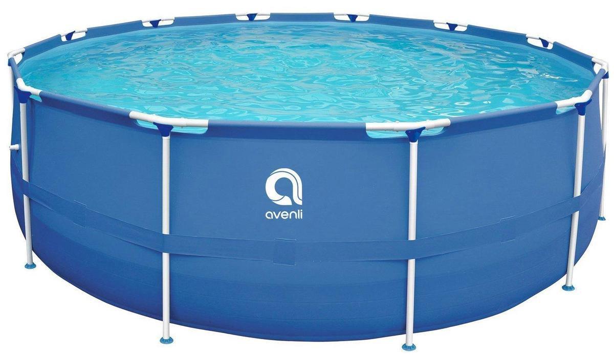 Zwembad de Luxe 305x76 cm - inclusief heel veel accessoires! - buiten opzetzwembad
