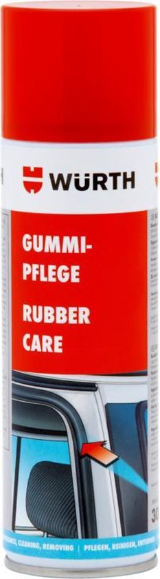 wurth RUBBERONDERHOUDSSPRAY - rubber onderhoud - auto rubber spray