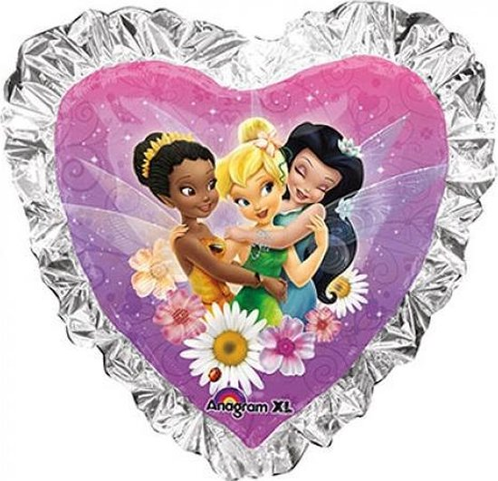 Folieballon Tinkerbel Heart supershape