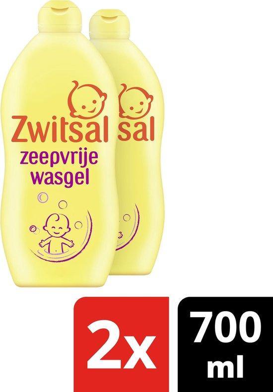 Zwitsal Zeepvrije Wasgel Baby - 2x700ml