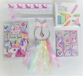 Jewellicious Designs Knutselpakket Unicorn dromenvanger rainbow DIY