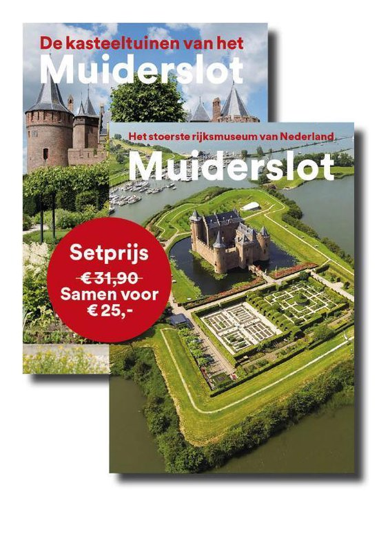 Boek cover De Kasteeltuinen van het Muiderslot + Muiderslot, het stoerste rijksmuseum van Nederland van Yvonne Molenaar (Paperback)