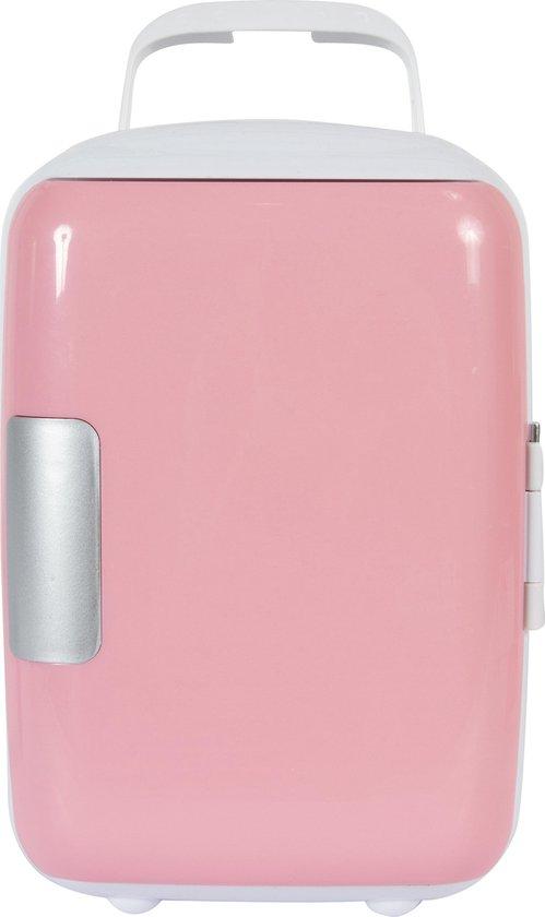 Koelkast: Peach Beauty Mini Makeup Koelkast Roze - 4 Liter, van het merk Peach Beauty