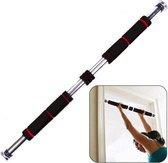 pull up bar fitness - optrekstang deur - uitschuifbaar 80 tot 130 cm - lichaams gewicht training