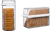 Mepal Voordeelset Knackebrood doos + Beschuitdoos