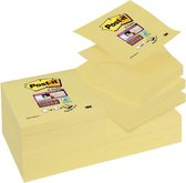 Post-it® Super Sticky Z-Notes, Canary Yellow™, 76 x 76 mm, 1 blok