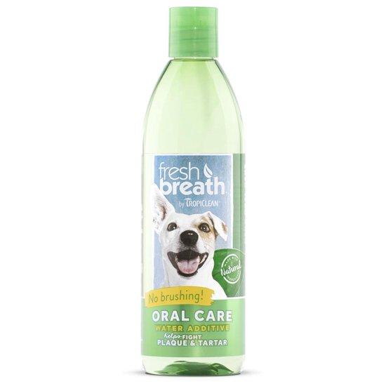 Tropiclean Fresh Breath Oral Care Water Additive - Gebitsverzorging - 473 ml