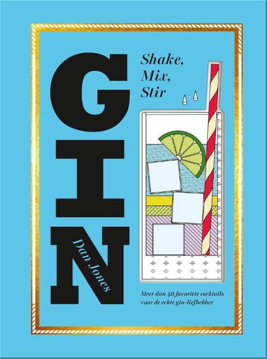 Boek cover Gin van Dan Jones (Hardcover)