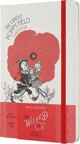 Moleskine Limited Edition Notitieboek Wizard Of Oz Large (13x21 cm) Gelinieerd Poppy Field