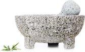 Cosy&Trendy Vijzel met stamper graniet - Ø 20 cm