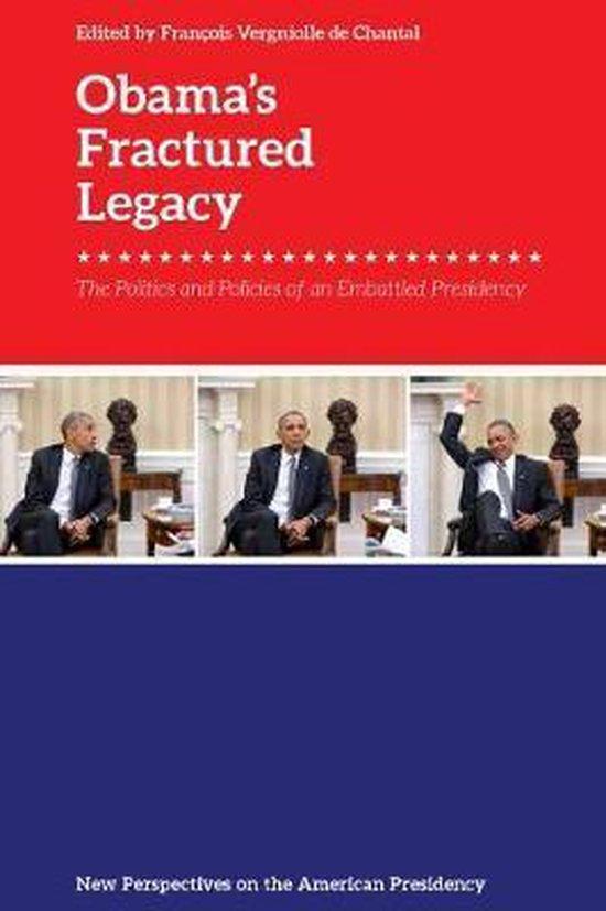 Boek cover ObamaS Fractured Presidency van  (Paperback)