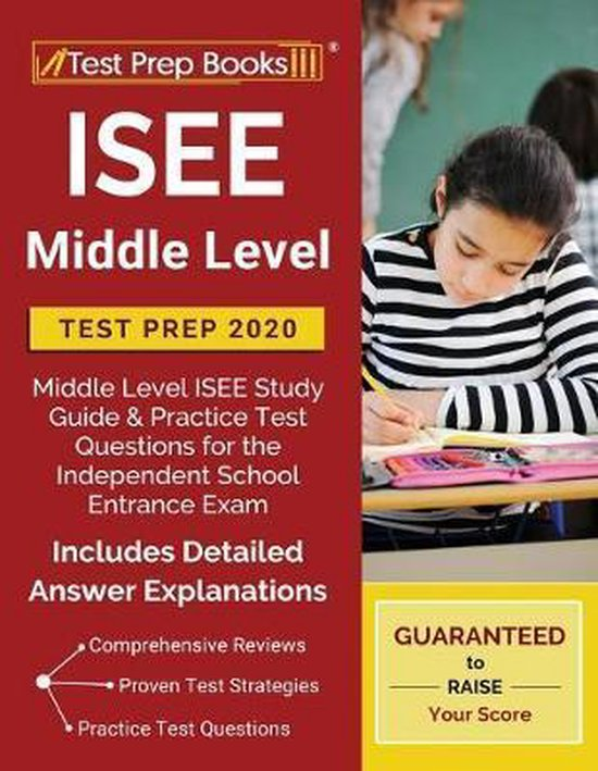 ISEE Middle Level Test Prep 2020