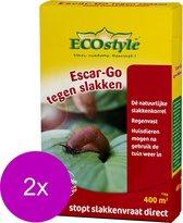 Ecostyle Escar-Go - Ongediertebestrijding - 2 x 1 kg