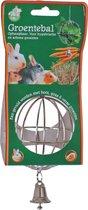 Gebr de Boon metalen hooi en groenvoerbal bel 8 cm