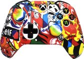 Xbox One Controller Skin | Controller hoesje + Thump grips | Rood