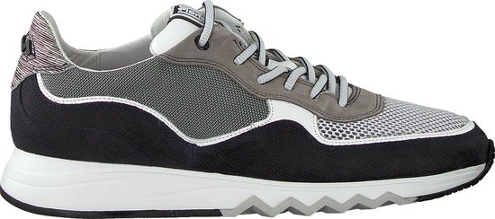 Floris Van Bommel Heren Lage sneakers 16093 - Grijs - Maat 43