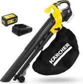 Kärcher Accu Bladblazer / zuiger BLV 18-200 inclusief starterpack oplader & Accu 18/50 - 18 Volt - 425 m2 - 45L opvangzak - versnipperaar