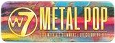 W7 Metallic Pop Oogschaduw Palette