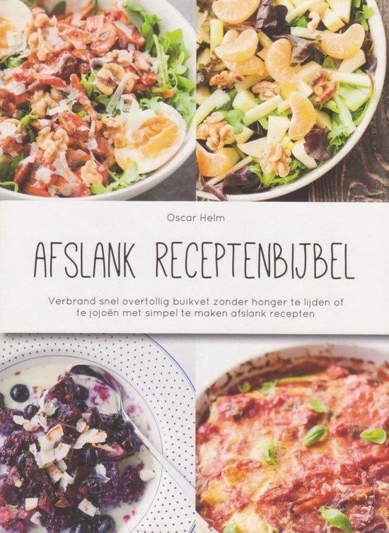 bol.com | Afslank Receptenbijbel, Oscar Helm | 9782130375203 | Boeken