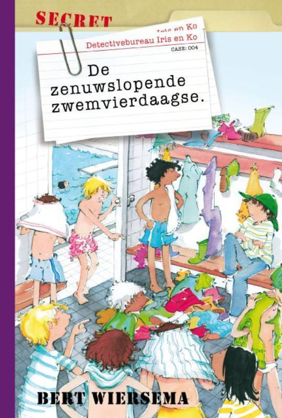 De Zenuwslopende Zwemvierdaagse - Bert Wiersema |