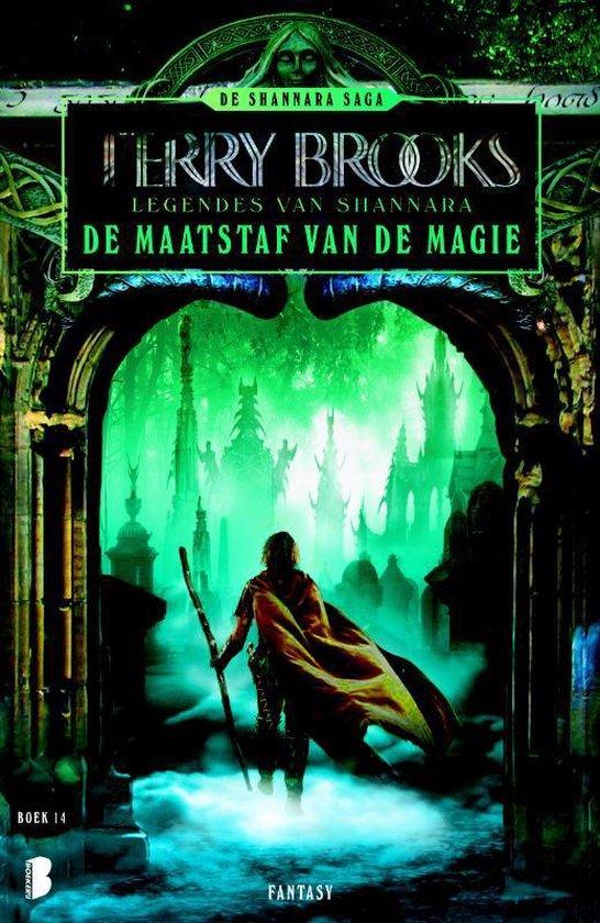Cover van het boek 'De maatstaf van de magie' van Terry Brooks
