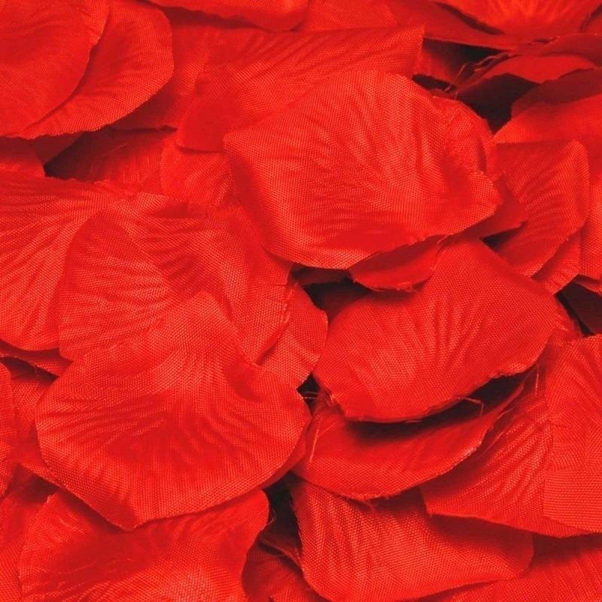 Luxe rode rozenblaadjes 144 stuks