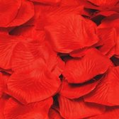 Romantische valentijn / bruiloft rozenblaadjes van stof - 144 stuks