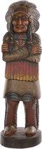 Standbeeld houten indiaan