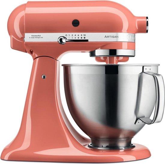 Kitchenaid Artisan 5KSM185PSEPH - Keukenmachine - Roze