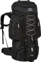 Highlander backpack Rambler - Rugzak - 88 liter - Zwart/Zilver