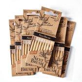 NextBrush bamboe ragers 3,5-6 mm - 48 stuks (ISO 4)