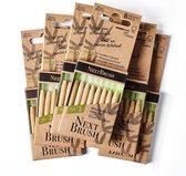 NextBrush bamboe ragers 2,4 mm - 48 stuks (ISO 2)