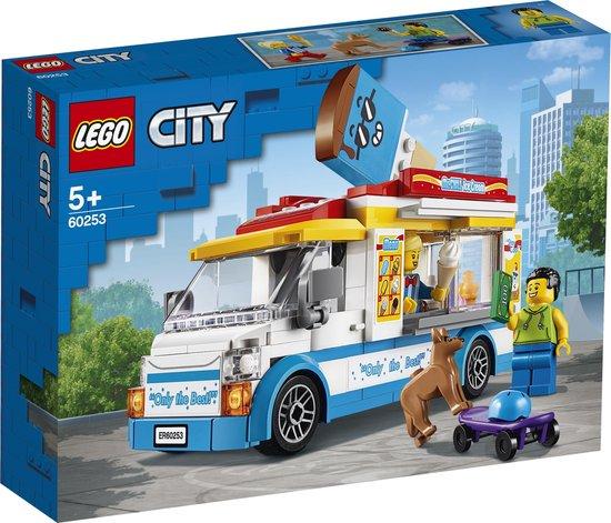 LEGO City IJswagen - 60253 - Wit