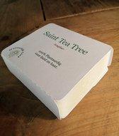Shampoo Bar - Tea Tree - Biologsche ingrediënten - Natuurlijke Zeep - kado - Gemaakt in Nederland -  Vegan Soap - Theeboomolie